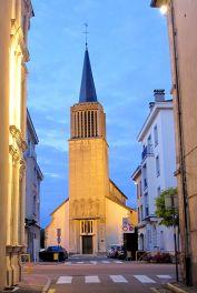 Eglise St Nicolas MH Ville de Charmes