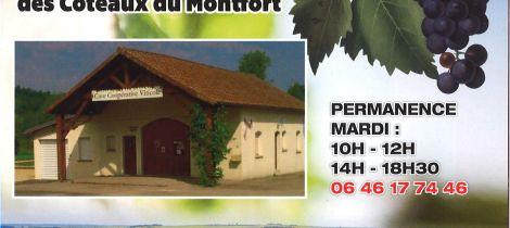 Aperçu de LES PRODUCTEURS REUNIS DES COTEAUX DU MONTFORT