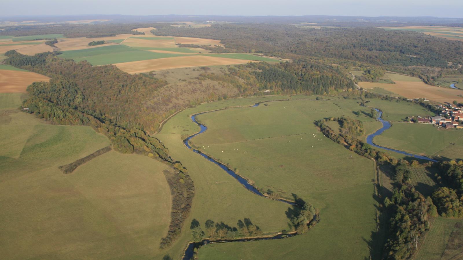 Les méandres de la Meuse