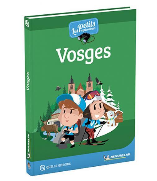 Couverture du Guide des Petits Explorateurs - Vosges