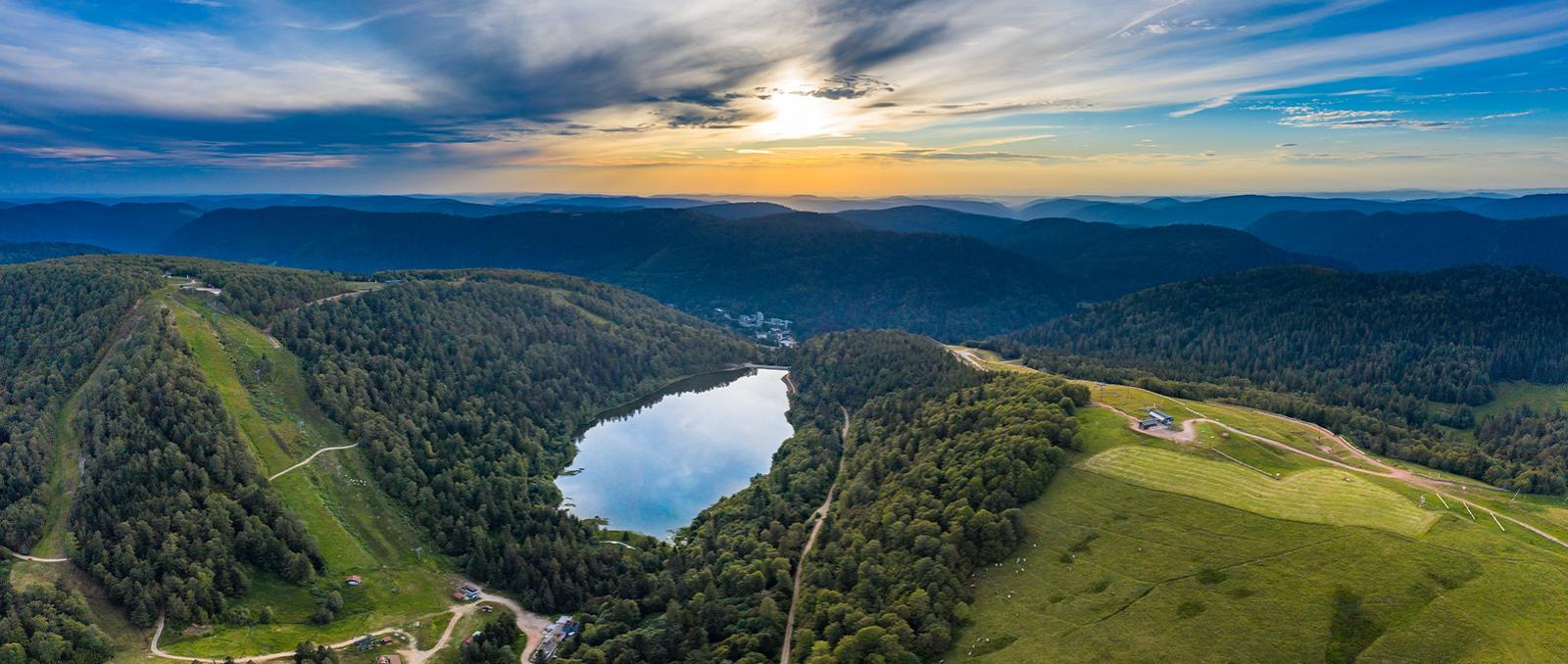 Lac de la Lande, Haute Vosges